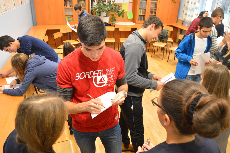 Israeli youth in the oldest Warsaw high school