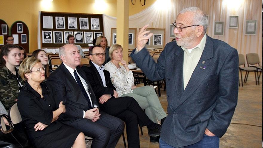 Edukatorzy z Instytutu yad Vashem